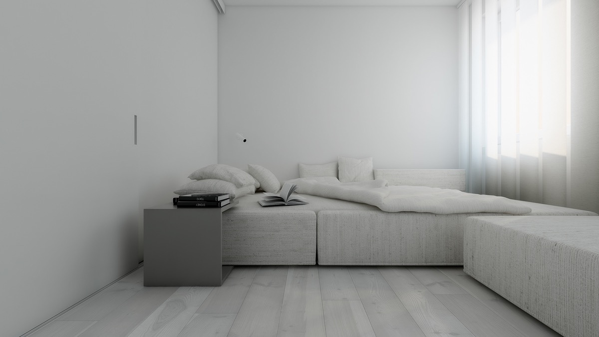 Light White and Minimalist Homes Inspiring Clarity of Mind Best