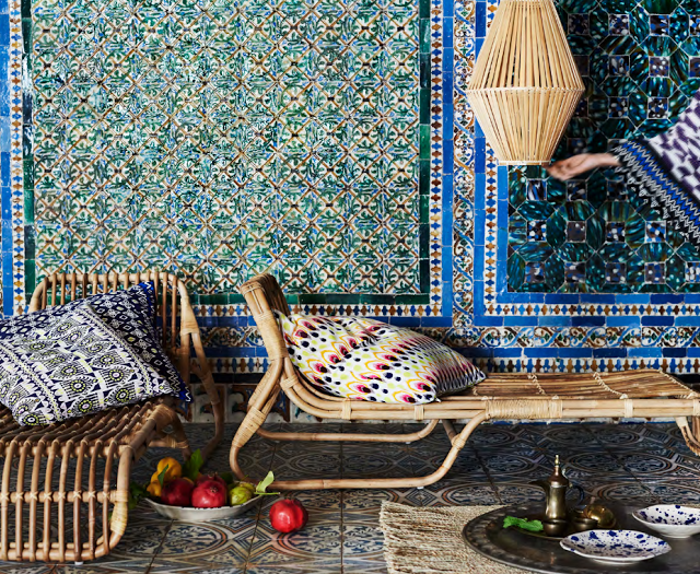 IKEA has launched a limited furniture and textile collection especially for those who love boho chic style