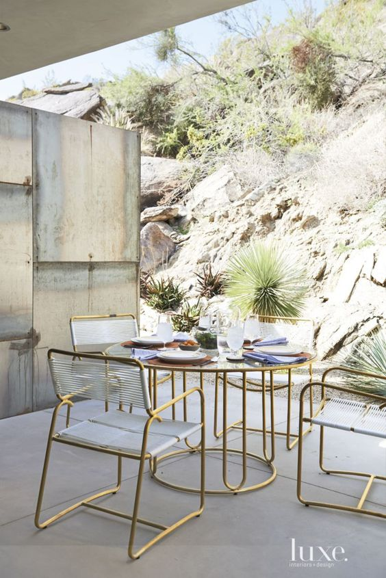 brass leg furniture with lucite looks modenr and edgy