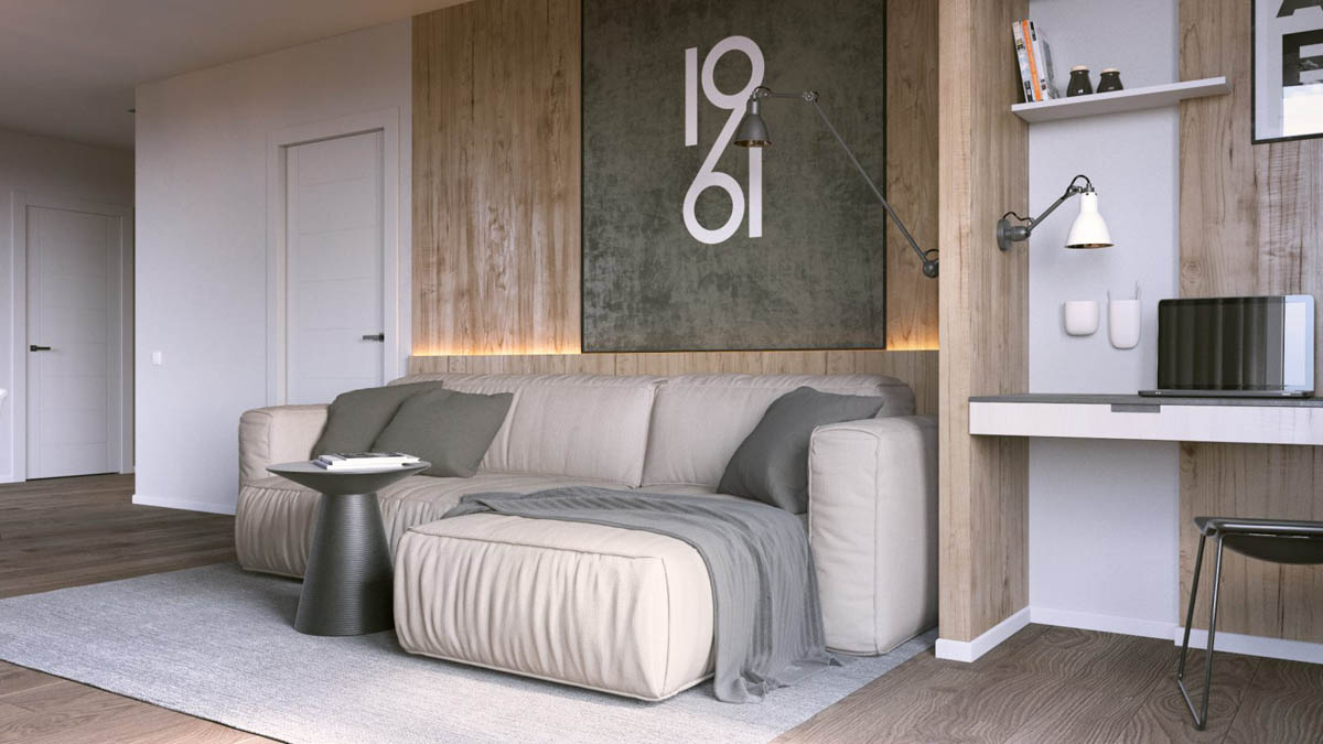 3 One Bedroom Apartments Under 750 Square Feet 70 Square Metres Includes Layouts Best Interior Design Ideas