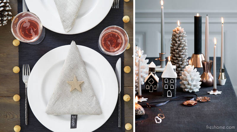 Christmas table decorating ideas - freshome.com