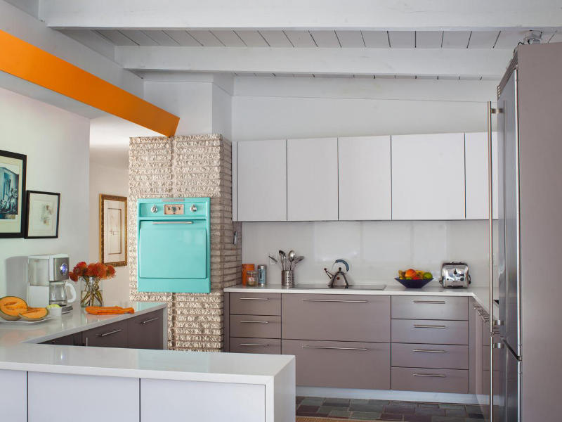 midcentury modern kitchen ideas - freshome.com