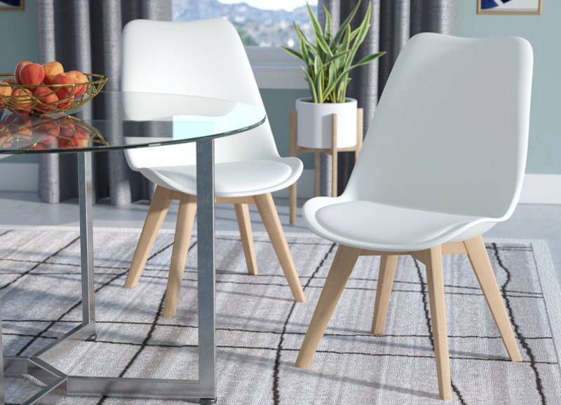 leather dining chairs - freshome.com