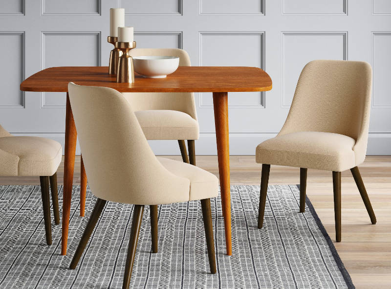 upholstered dining chairs - freshome.com