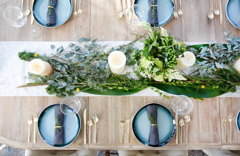 thanksgiving table decorating ideas and centerpieces - freshome.com