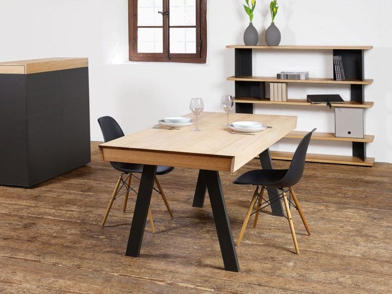 Convertible Celerina Table For Dining And Working Best Interior Design Ideas