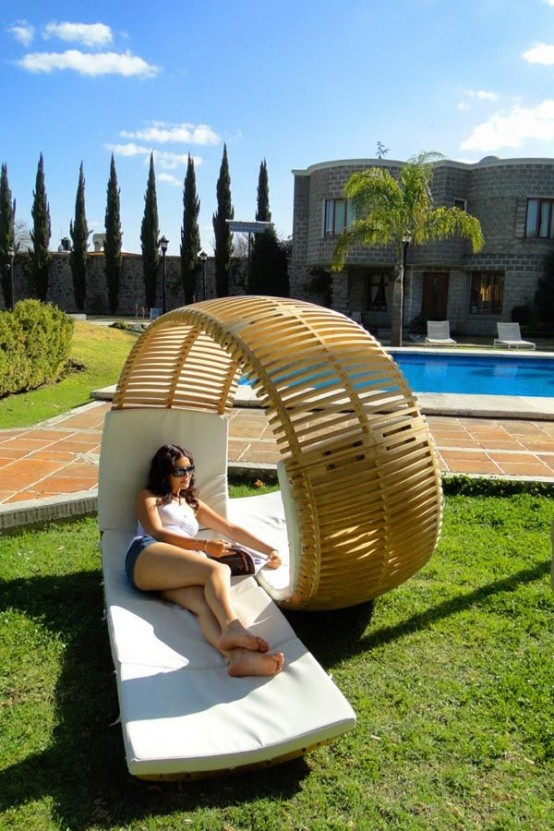 29 Cool Outdoor Lounge Chairs For