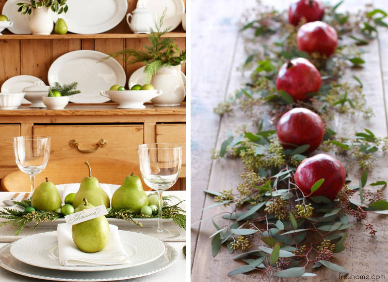 christmas table setting ideas - freshome.com
