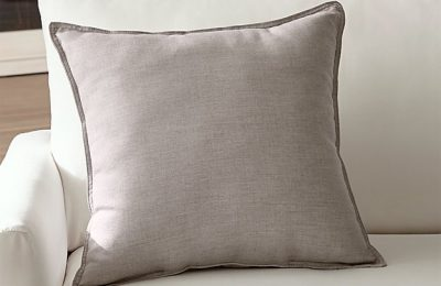 Reviews Sunbrella ® Silver 20″ Sq. Outdoor Pillow Online